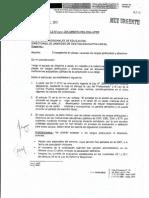 Oficio Múltiple Nº 005-2013-MINEDU/SG-OGA-UPER, del 17·01·2013, referente a encargaturas en plazas vacantes de cargos jerárquicos y directivos