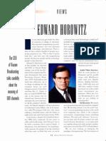 Viacom CEO Edward Horowitz