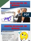 GESTÃO DE SALÃO  DE BELEZA I parte