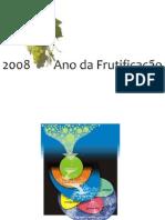 O ANO DA FRUTIFIÇÃO - Gráfico Cíclico