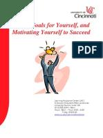 Goal Setting & Motivation Workshop Booklet
