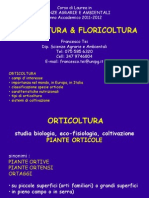 1- orticoltura diffusione & caratteristiche
