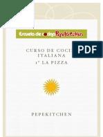 Temario Curso Cocina Italiana Pizza