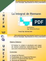 La Integral Segun Rieman