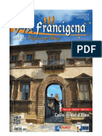 Rivista Via Francigena - editoriale On Silvia Costa