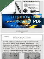 SELECCIÓN DE BROCAS 1