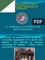 PROYECTO AYAVIRI 2012