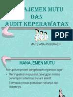 Manajemen Mutu & Audit Keperawatan