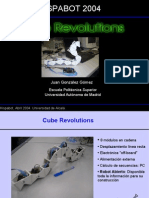 Robot Cube Revolutions. Hispabot 2004