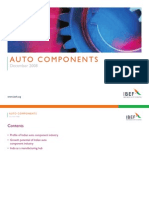 Indian Auto Components Industry Presentation 060109