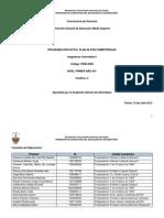 Programa de Informatica I en Competencias 2012-2013