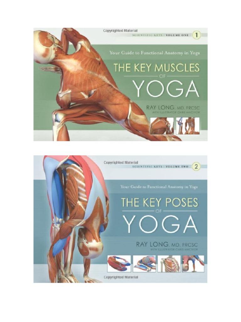 Libros sobre la anatomía del hatha yoga