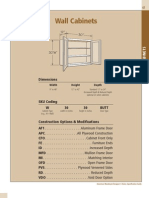Spec Section - Wall Cabinets_0