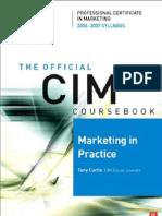 CIM Marketing in Practice