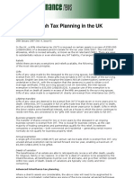 Shariah Tax Planning in the UK by Riyazi Farook