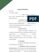 ACCIÓND E AMPARO