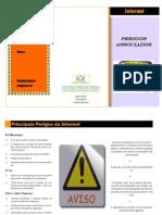 CLC.5 Portugues - Panfleto - Perigos Da Internet- Trabalho Diogo, Nuno e Roberto - Anil