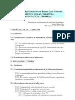 Didactica de La Literatura - Educacion Literaria
