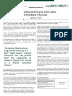 Islamic Banking and Finance in Sri Lanka