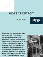 Riots of Detroit