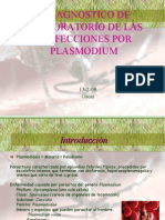 Diagnostico de Infecciones de Plasmodium Por El LabOratorio