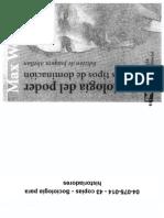 04075014 - WEBER - Sociología del poder
