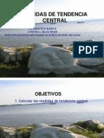 8 Medidas de Tendencia Central Juilio 2009