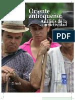 Analisis conflictividad Oriente Antioqueño