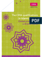 CIMA Islamic Finance Diploma Brochure 09-2012