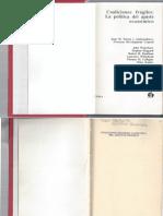 Nelson '91 Coaliciones frágiles La política dl ajuste eco CAPS 1, 2 y 3