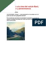 ASCENSO AL VOLCAN BARU-PANAMÁ