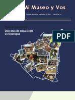 10- Años de Arqueologia en Nicaragua-Revista Mi MuseoNo14