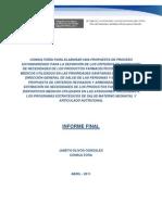 Informe Final_consultoria_estandarizacion de Criterios de Estimacion de Necesidades