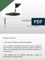 Expo Politica Fiscal