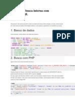 Sistema de Busca Interna Com PHP