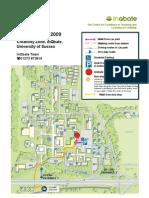 InQbate at Uni of Sussex Map