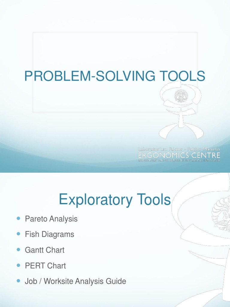 Chapter 2 problem solving tools systems science technology ccuart Choice Image