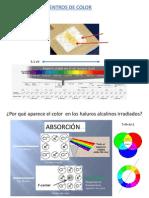 Para Tomar Apuntes Centros de Color