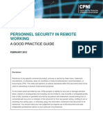 2012004-Personnel Security in Remote Working