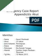 Emergency Case Report App Yulia