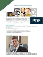 As 5 profissões de TI mais procurados pelas empresas