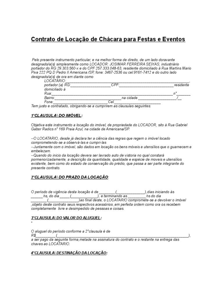 Contrato De Arrendamiento Tres Modelos Para Imprimir Ley