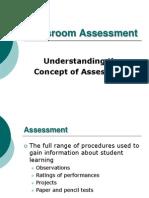Classroom Assessment Class3