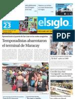 Elsiglo Maracay Domingo 23-06-2013