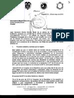 Aclaracion de Sentencia C-577-11 Union Colegiada Del Notariado Colombiano