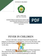 Ppt Fever in Children