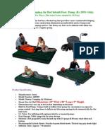5-in-1 Air Bed Sofa