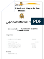 2do Informe Del Laboratorio de Fisica General