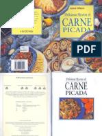 Libro Recetas Cocina Deliciosas Recetas de Carne Picada Anne Wilson