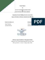 sip Project Report of Hyundai